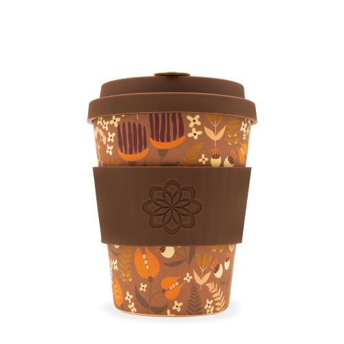 "Ecoffee cup ""Tiny Garden Darwin"" 340ml"