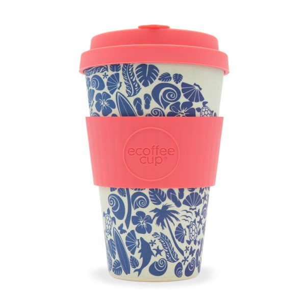 "Ecoffee cup ""WAIMEA BAY"" 400ml"