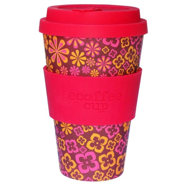 "Ecoffee cup ""YEAH BABY"" 400ml"