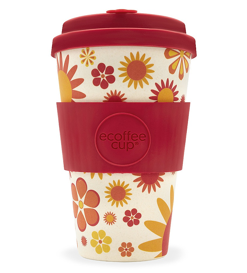 "Ecoffee cup ""Happier"" 400ml"