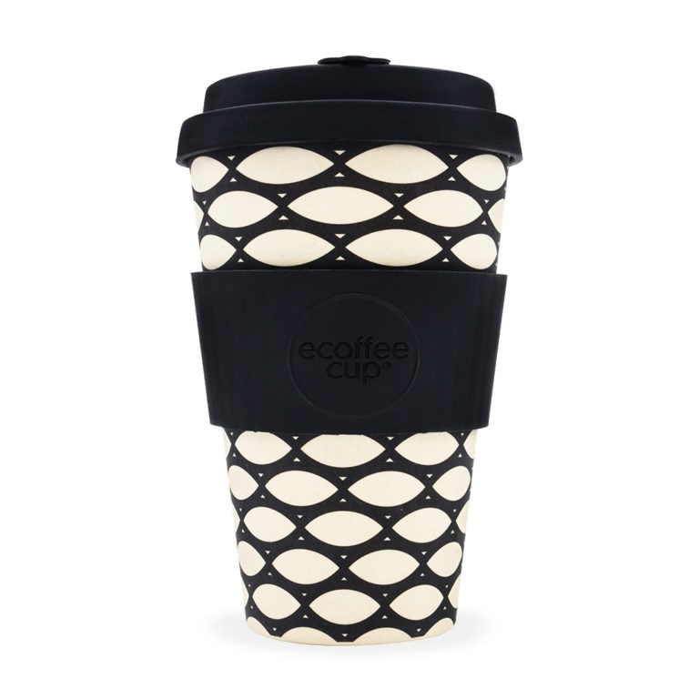 "Ecoffee cup ""Basketcase"" 400ml"