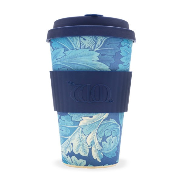 "Ecoffee cup ""ACANTHUS WILLIAM MORRIS"" 400ml"